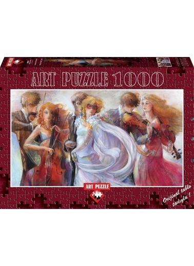 Educa Art Puzzle 1000 Parça Panorama Maskeli Balo Renkli